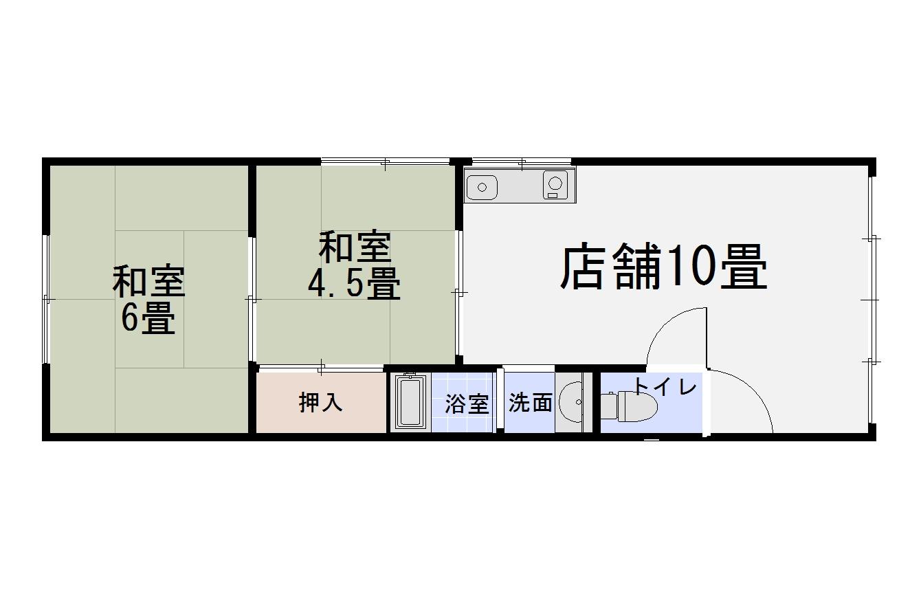 伏見竹田街道沿い、1階テナント募集開始!弊社専任。現状空き、お気軽にご覧ください!