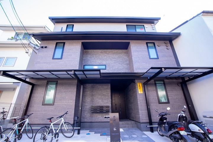 【賃貸】学生に人気のエリア今出川にお洒落なデザイナーズワンルームマンション!カガヤ家!